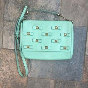 Kate Spade Felisha Bow Terrace Mint cross body bag